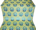 Brabant metallic brocade (blue/gold)