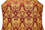 Tars metallic brocade (claret/gold)