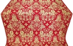 Tars metallic brocade (red/gold)