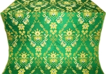 Antiokhiya metallic brocade (green/gold)