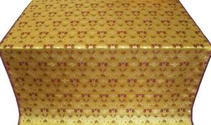 Dove metallic brocade (yellow/gold)