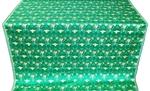 Dove metallic brocade (green/gold)