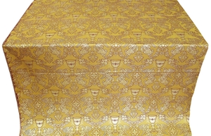Greek Chalice metallic brocade (yellow/gold)