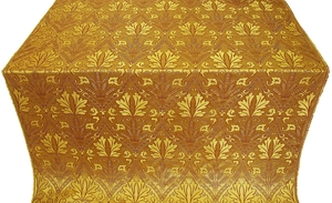 Repida metallic brocade (yellow/gold)