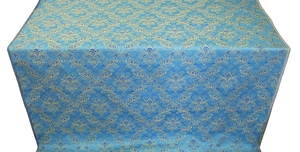Repka metallic brocade (blue/gold)