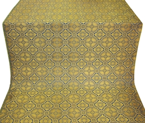 Miletus metallic brocade (blue/gold)
