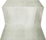 Miletus metallic brocade (white/silver)