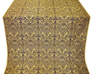 Morozko metallic brocade (violet/gold)