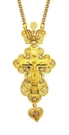 Clergy jewelry pectoral cross no.11
