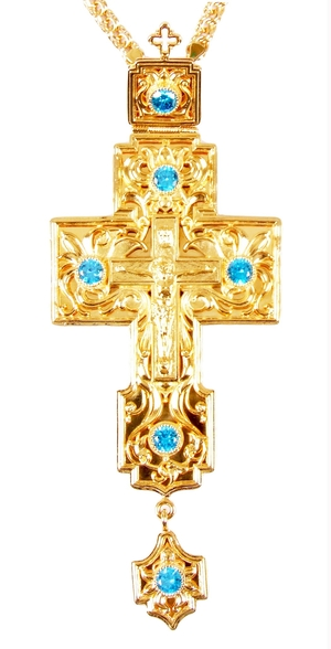 Clergy jewelry pectoral cross no.27
