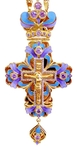 Clergy jewelry pectoral cross no.13 (violet)