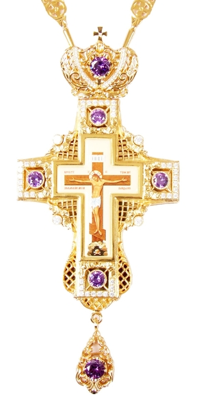 Clergy jewelry pectoral cross no.35