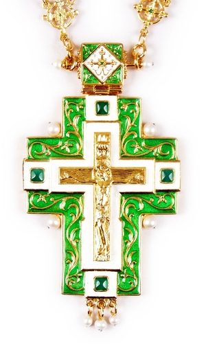 Clergy jewelry pectoral cross no.47