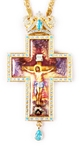 Clergy jewelry pectoral cross no.55-2
