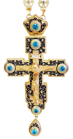 Clergy jewelry pectoral cross no.85