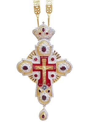 Clergy jewelry pectoral cross no.86