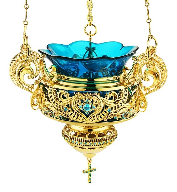 Orthodox Hanging Vigil Lamp: Istok Church Supplies Corp