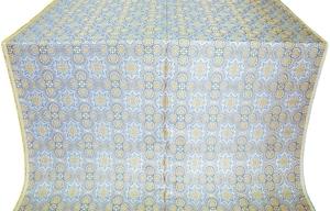 Anaplas blue/gold metallic brocade