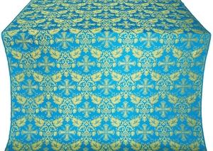 Koursk metallic brocade (blue/gold)