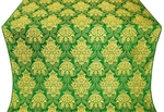 Pavlov Bouquet metallic brocade (green/gold)