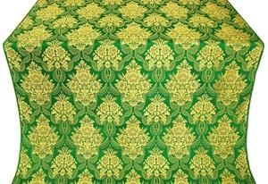 Pavlov Bouquet metallic brocade (green/gold)