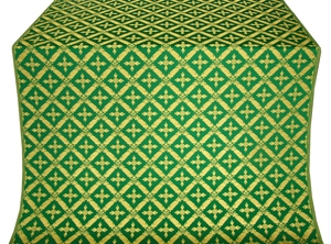 Polistavrion metallic brocade (green/gold)