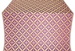 Polistavrion metallic brocade (violet/gold)