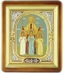 Religious icons: Holy Martyrs Vera, Nadejda, Lyubov and their mother Sophia