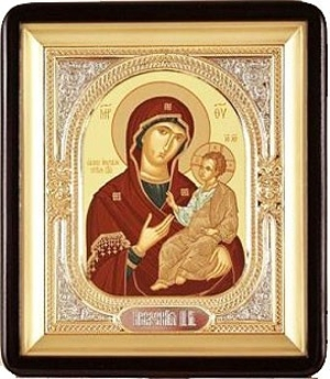Religious icons: Most Holy Theotokos of Iveron