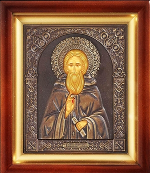 Religious icons: Holy Venerable Sergius of Radonezh