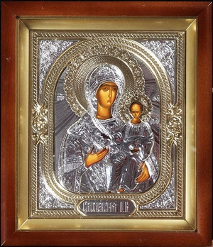Religious icons: Most Holy Theotokos of Smolensk - 2