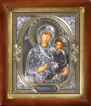Religious icons: Most Holy Theotokos of Tikhvin