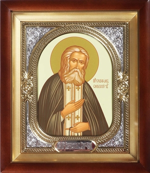 Religious icons: Holy Venerable Sergius of Radonezh - 2