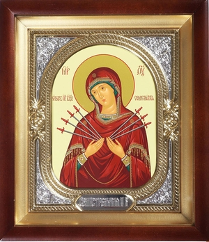 Religious icons: Most Holy Theotokos of the Seven Arrows - 3