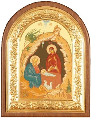 Religious icons: Nativity of Christ