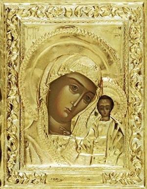 Religious icons: Most Holy Theotokos of Kazan no.11a