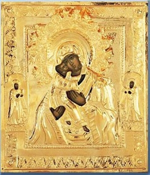 Religious icons: Most Holy Theotokos of Vladimir no.49