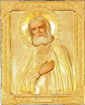 Religious icons: Holy Venerable Seraphim of Sarov - 2