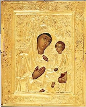 Religious icons: Most Holy Theotokos of Tikhvin no.3