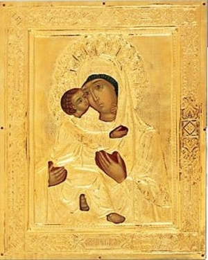 Religious icons: Most Holy Theotokos of Vladimir no.5