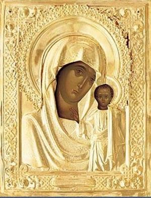 Religious icons: Most Holy Theotokos of Kazan no.10