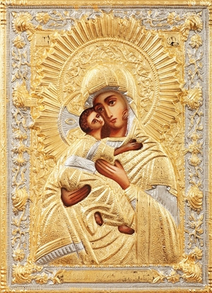 Religious icons: Most Holy Theotokos of Vladimir no.234