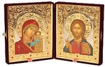 Religious icons: Folding icon pair - 1