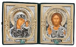 Religious icons: Folding icon pair - 2