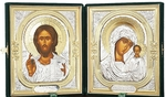 Religious icons: Folding icon pair - 3