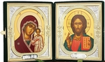 Religious icons: Folding icon pair no.1