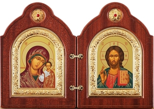 Religious icons: Folding icon pair - 4