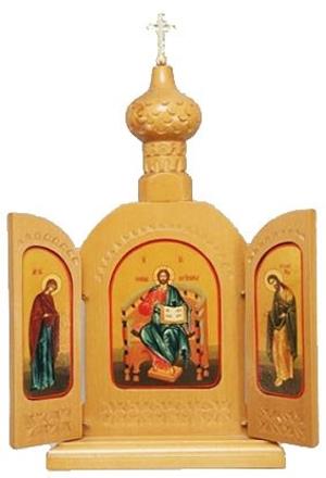 Religious icons: Folding icon pair - 5