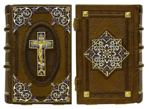 Prayer-book in custom-made jewelry cover no.19