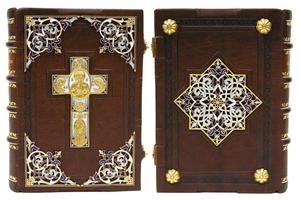 Prayer-book in custom-made jewelry cover no.20